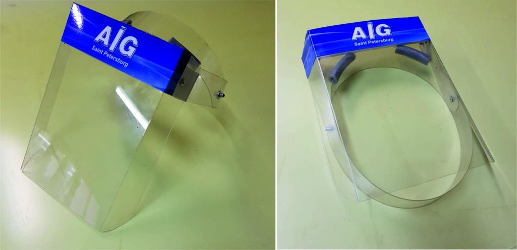 маска для лица AIG щиток защиты глаз AIG